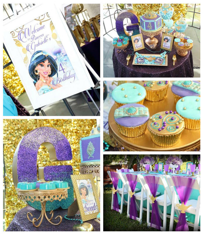 Kara 39 s party ideas aladdin themed princess birthday party for All decoration games