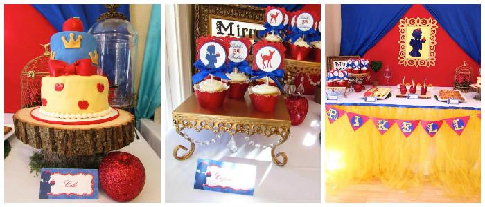 Kara S Party Ideas Snow White Themed Birthday Party