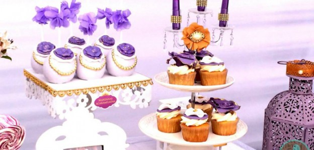 Sofia The First Themed Birthday Party via Kara's Party Ideas KarasPartyIdeas.com #sofiathefirst #sofiathefirstparty #sofiathefirstcake #girlpartyideas #princessparty #princesspartyideas (1)
