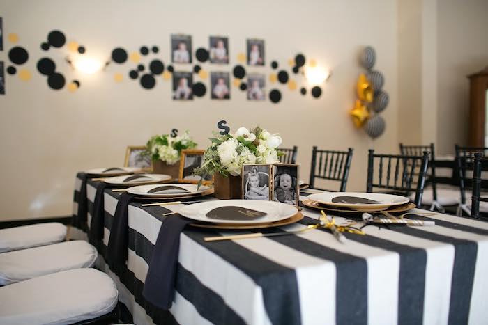 Kara's Party Ideas Mr. ONEderful Tuxedo Themed 1st ...