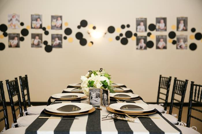 Kara S Party Ideas 187 Mr Onederful Tuxedo Themed 1st