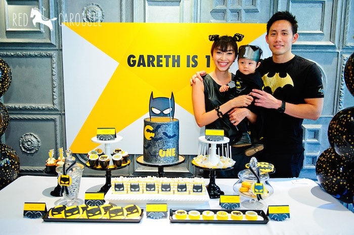 Karas Party Ideas Batboy Batman Themed Birthday Party via Karas