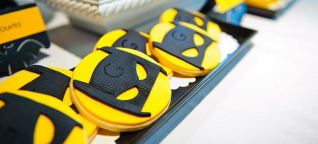 Batboy Batman Themed Birthday Party via Kara's Party Ideas KarasPartyIdeas.com Cake, decor, dessert, favors, supplies, and more! #batmanparty #batmanpartyideas #superheroparty #karaspartyideas (2)