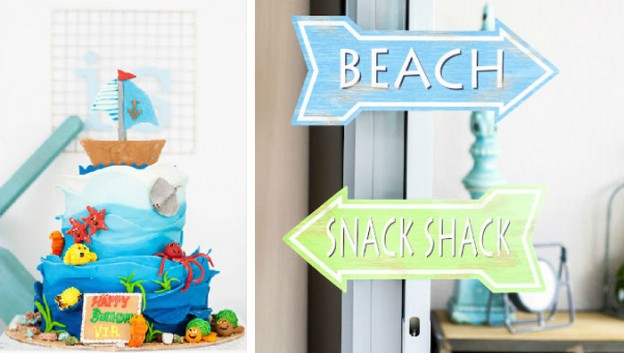 Beach Bash 4th Birthday Party via Kara's Party Ideas KARASPARTYIDEAS.COM Full of party ideas, decor, tutorials, desserts, games and more! #beachparty #beachbash #beachbirthdayparty #beachpartydecor #beachpartyideas (2)