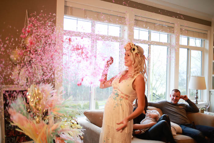 Kara S Party Ideas Boho Inspired Twins Gender Reveal Party