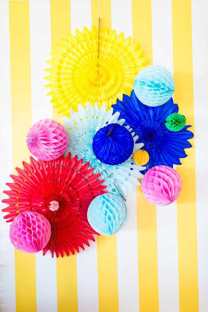 Greatest Showman Inspired Circus + Carnival Birthday Party via Kara's Party Ideas KarasPartyIdeas.com Party supplies, cake, tutorials, giveaways, food and more! #circus #circusparty #carnival #carnivalparty #circuscake #circuspartysupplies #genderneutral #genderneutralparty #karaspartyideas (9)
