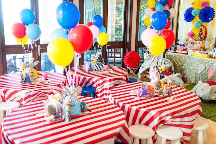Kara S Party Ideas 187 Circus Carnival Birthday Party Via