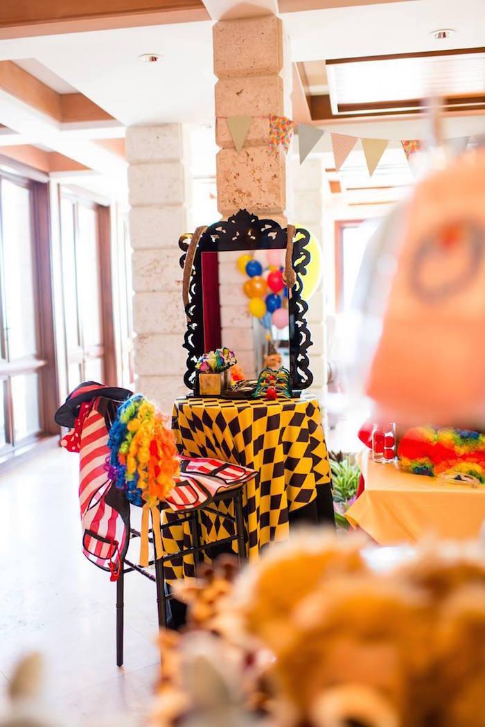 Kara S Party Ideas Circus Carnival Birthday Party