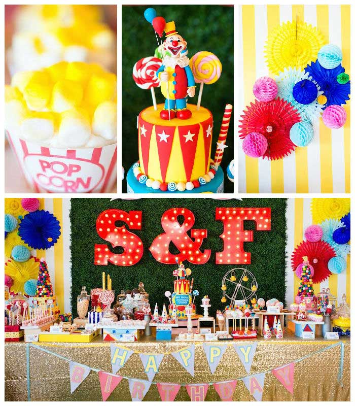 Greatest Showman Inspired Circus + Carnival Birthday Party via Kara's Party Ideas KarasPartyIdeas.com Party supplies, cake, tutorials, giveaways, food and more! #circus #circusparty #carnival #carnivalparty #circuscake #circuspartysupplies #genderneutral #genderneutralparty #karaspartyideas (2)