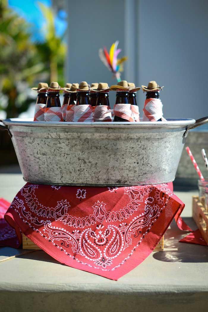 Kara's Party Ideas Cowboys & Indians Themed Birthday Party
