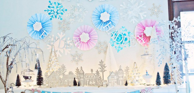 Frozen Birthday Party via Kara's Party Ideas KarasPartyIdeas.com Party supplies, cake, tutorials, printables, giveaways and more! #frozen #frozenparty #winterwonderlandparty #frozenpartyideas #karaspartyideas #partyplanning #partydesign (2)