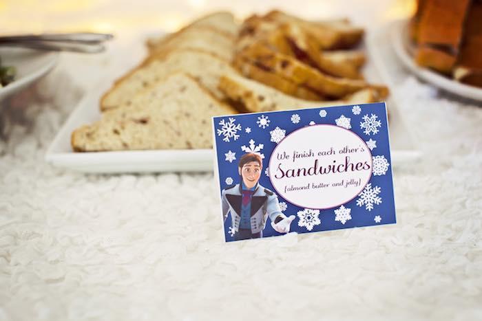 Frozen Birthday Party via Kara's Party Ideas KarasPartyIdeas.com Party supplies, cake, tutorials, printables, giveaways and more! #frozen #frozenparty #winterwonderlandparty #frozenpartyideas #karaspartyideas #partyplanning #partydesign (45)