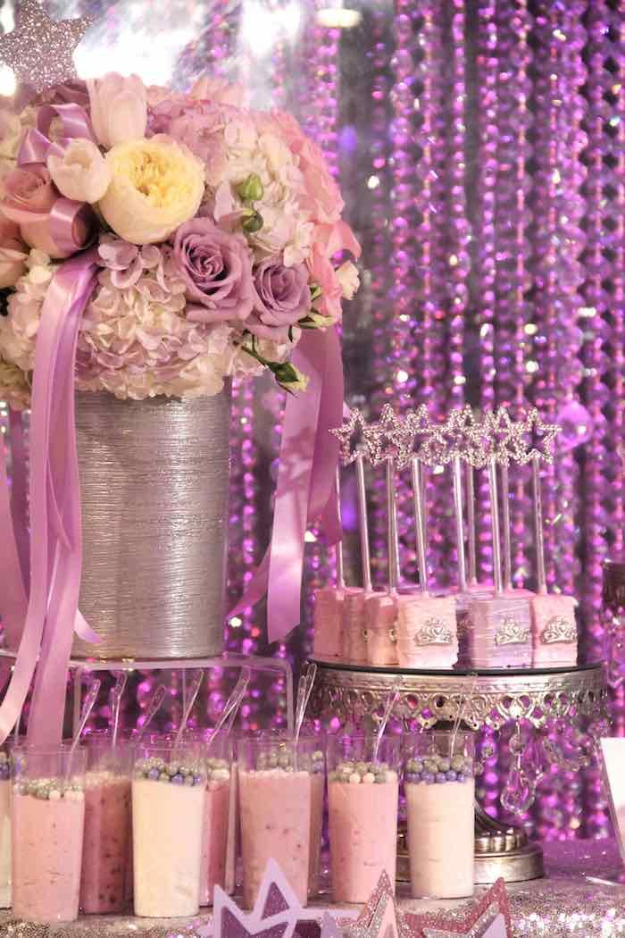 Kara S Party Ideas Glamorous Princess Themed Birthday
