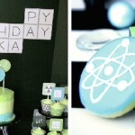 Junior Scientist Themed Birthday Party via Kara's Party Ideas KarasPartyIdeas.com The Place For ALL Things PARTY! #science #scienceparty #sciencebirthdayparty #boypartyideas