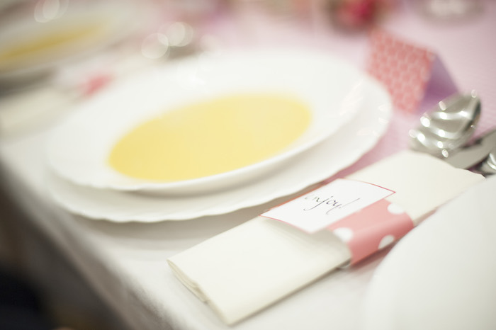 Ladies Dinner Party Ideas Part - 38: Ladies Night Pink Polka Dot Dinner Party Via Karau0027s Party Ideas  KarasPartyIdeas.com #dinnerparty