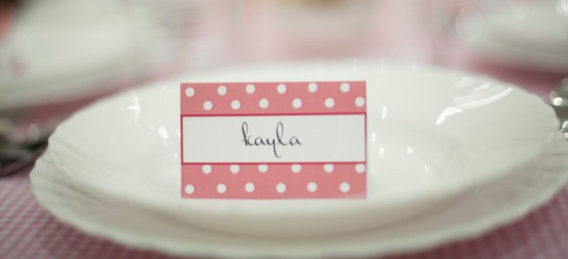 Ladies Night Pink Polka Dot Dinner Party via Kara's Party Ideas KarasPartyIdeas.com #dinnerparty #pinkpolkadot #ladiesnight #dinnerpartyideas #dinnerpartymenu #partyplanning (1)