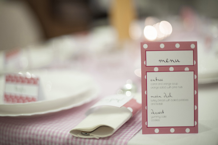 Attractive Ladies Dinner Party Ideas Part - 2: Ladies Night Pink Polka Dot Dinner Party Via Karau0027s Party Ideas  KarasPartyIdeas.com #dinnerparty