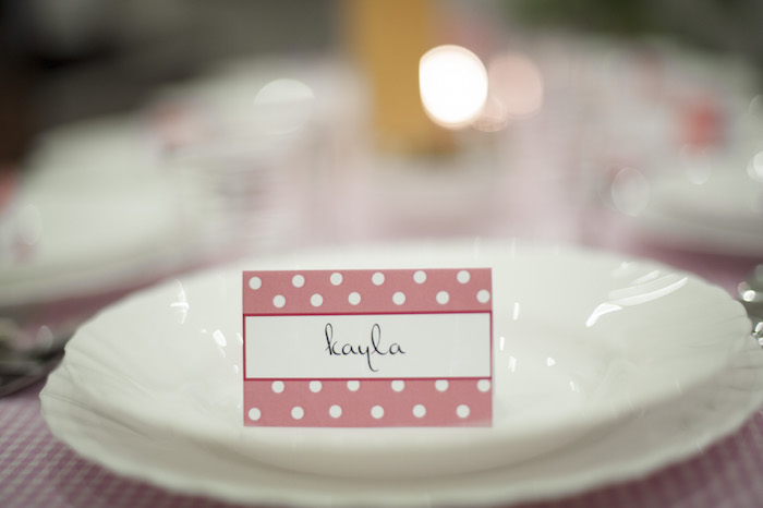 Ladies Dinner Party Ideas Part - 26: Ladies Night Pink Polka Dot Dinner Party Via Karau0027s Party Ideas  KarasPartyIdeas.com #dinnerparty