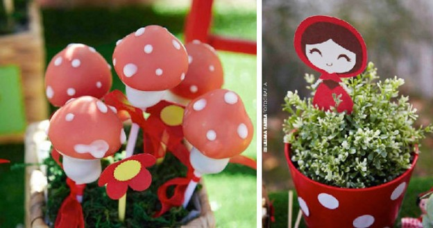 Little Red Riding Hood Themed Birthday Party via Kara's Party Ideas KarasPartyIdeas.com #littleredridinghood #littleredridinghoodparty #woodlandparty #partydesign (1)