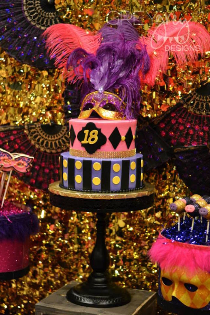 Kara S Party Ideas Masquerade 18th Birthday Party Via Kara