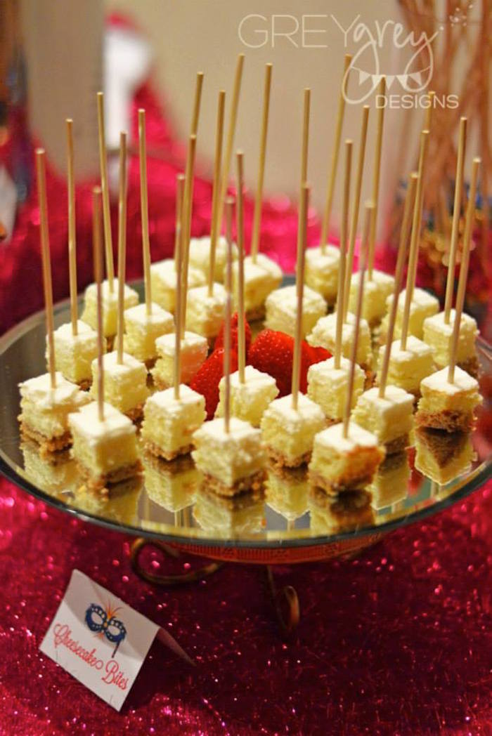 Sweet  Masquerade Food Ideas