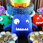 Monsters + Aliens Themed Birthday Party via Kara's Party Ideas KarasPartyIdeas.com #monstersandaliens #monsterparty #alienparty #partyplanning # (4)