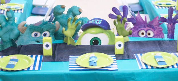 Monsters University Birthday Bash + Party via Kara's Party Ideas KarasPartyIdeas.com Party supplies, cake, printables, tutorials, invitation, food and more! #monstersinc #monstersuniversity #monstersincparty #monstersuniversityparty #monstersincbirthdaycake #mikeandsully #mikecake #karaspartyideas #monsterparty #partyplanning #monsteruniversitypartysupplies (2)
