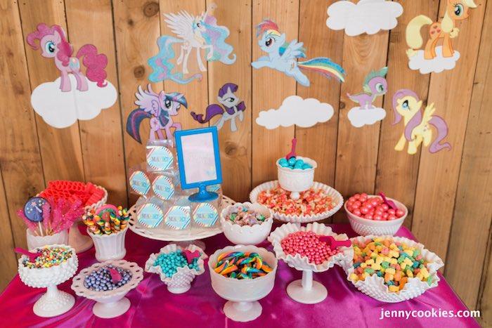 My Little Pony Birthday Party Via Karas Ideas KarasPartyIdeas Cake Decor