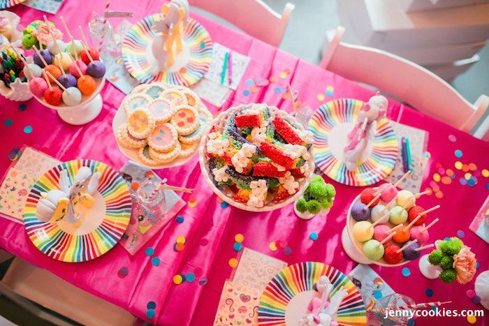 Karas Party Ideas My Little Pony Birthday Party via Karas Party