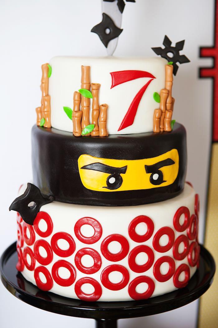 Kara s party ideas ninja lego ninjago birthday party via kara s party