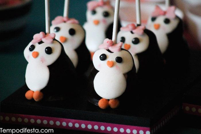 Kara S Party Ideas Penguin Themed Birthday Party