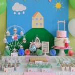Peppa Pig Themed Birthday Party via Kara's Party Ideas KarasPartyIdeas.com The Place for ALL Things Party! #peppapig #peppapigparty #peppapigpartyideas (1)