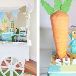 Peter Rabbit Themed 1st Birthday Party via Kara's Party Ideas KarasPartyIdeas.com The Place for All Things Party! #peterrabbit #beatrixpotter #rabbitparty #gardenparty #peterrabbitparty #firstbirthdaypartyideas #karaspartyideas #theadventuresofpeterrabbit (2)