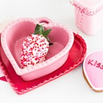 Pink + Red Valentine's Day Party via Kara's Party Ideas KarasPartyIdeas.com Printables, tutorials, desserts, giveaways, favors and more! #valentinesday #vdayparty #redandpink #valentinesdayparty #rusticvalentinesday #karaspartyideas (1)