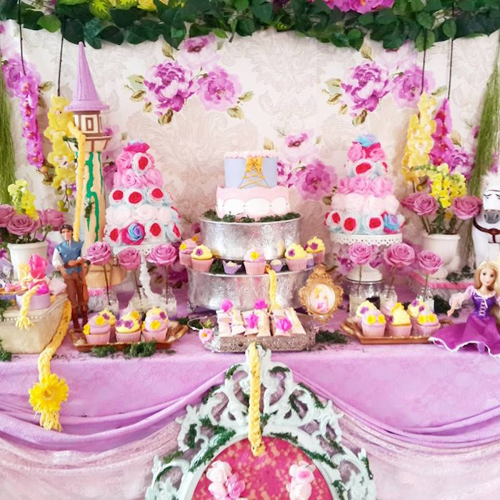 kara s party ideas rapunzel tangled themed birthday party via on tangled rapunzel birthday cake party decorating ideas