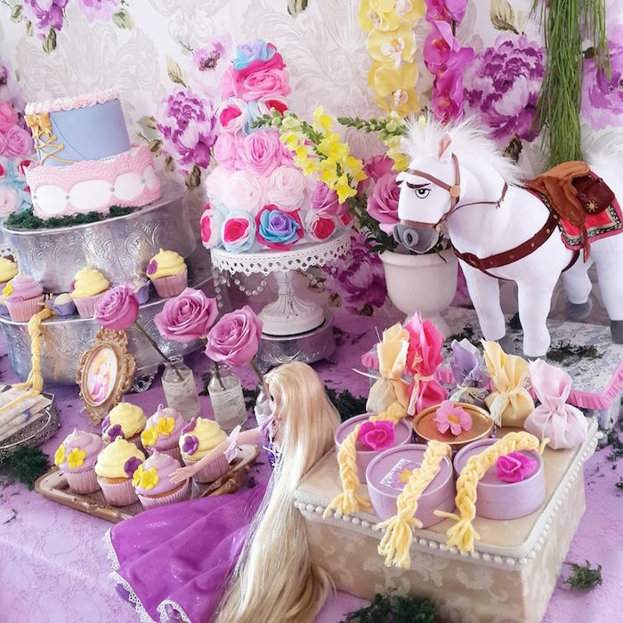 Kara's Party Ideas Rapunzel + Tangled Themed Birthday