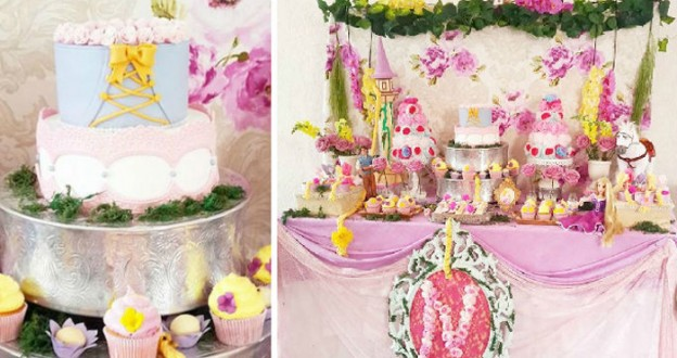 Rapunzel + Tangled Themed Birthday Party via KARA'S PARTY IDEAS KarasPartyIdeas.com Cake, decor, printables, favors, food and more! #tangled #rapunzelparty #tangledparty #rapunzel #tangledbirthdayparty #styledparty (1)