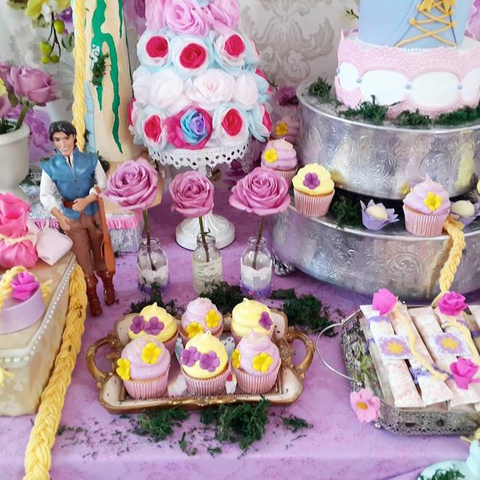 Rapunzel Tangled Themed Birthday Party Via KARAS PARTY IDEAS KarasPartyIdeas Cake Decor