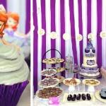 Sofia the First 5th Birthday Party via Kara's Party Ideas KarasPartyIdeas.com #sofiathefirstparty #sofiathefirst #disneyprincess #sofiathefirstcake #partyplanning #partydesign (1)