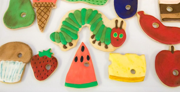 The Hungry Caterpillar Party Decorations  from karaspartyideas.com