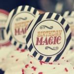 Vintage Magician Themed 8th Birthday Party via Kara's Party Ideas KarasPartyIdeas.com #magic #magicianparty #vintagemagician #harryhoudini #magicpartyideas #magicsupplies (1)