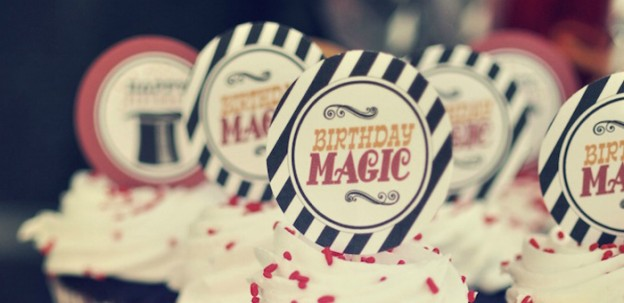 Vintage Magician Themed 8th Birthday Party via Kara's Party Ideas KarasPartyIdeas.com #magic #magicianparty #vintagemagician #harryhoudini #magicpartyideas #magicsupplies (1)
