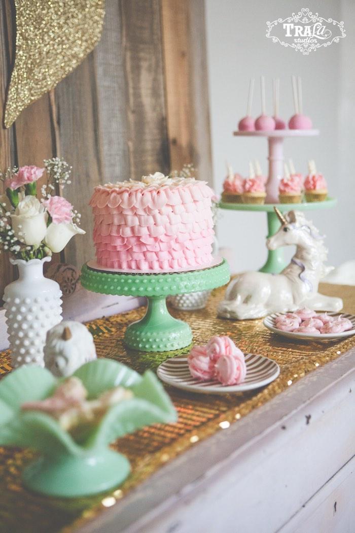Kara S Party Ideas 187 Vintage Unicorn Birthday Party Via