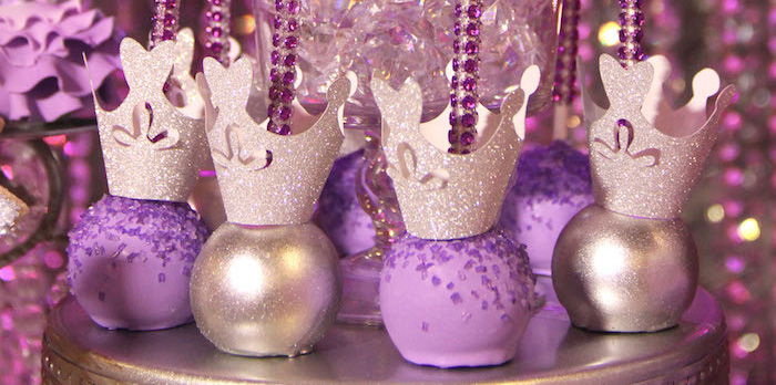Kara S Party Ideas Glamorous Princess Themed Birthday Party