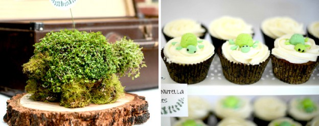 turtle themed birthday party via Kara's Party Ideas