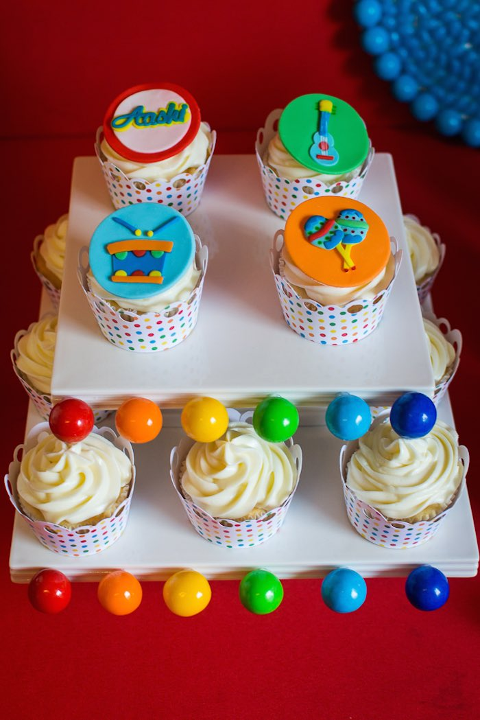 Kara S Party Ideas Baby Jam Musical Themed 1st Birthday Party