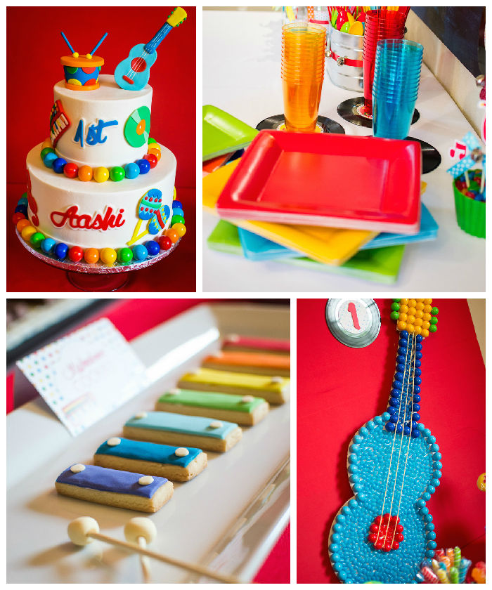 Kara S Party Ideas Car Themed 1st Birthday Party Via Kara: Kara's Party Ideas Baby Jam Musical Themed 1st Birthday