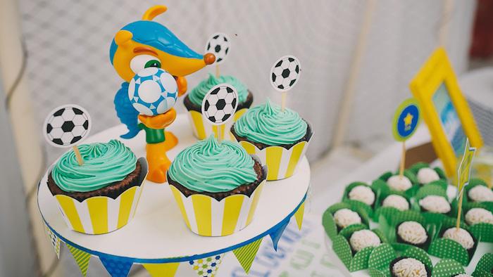 Kara S Party Ideas Brazil World Cup Soccer Themed Birthday
