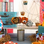 Circus themed birthday party via Kara's Party Ideas KarasPartyIdeas.com The Place for ALL Things Party! #circusparty (2)