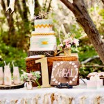 Dreamy Navajo 1st Birthday Party via Kara's Party Ideas KarasPartyIdeas.com | Cake, printables, tutorials, giveaways, and more! #dreamynavajoparty #dreamynavajoparty (1)